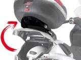 Givi SR134M Special Monolock Rear Carrier Piaggio MP3 2006 on