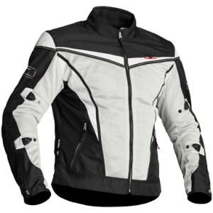 c27cb103 Lindstrands Flux Textile Motorcycle Jacket Black White