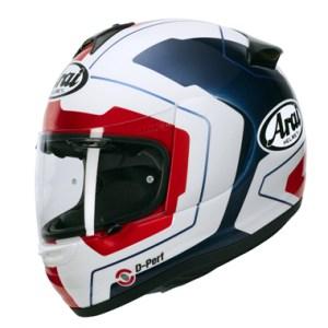 10452395 Arai Axces 3 Motorcycle Helmet in Line Blue