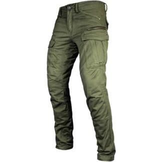 John Doe Stroker Kevlar Cargo Motorcycle Jeans Olive