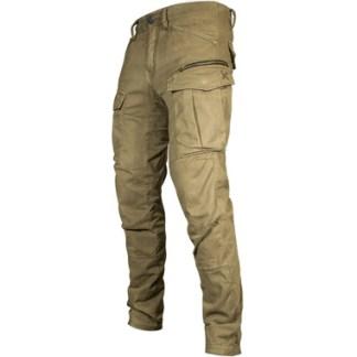 John Doe Stroker Kevlar Cargo Motorcycle Jeans Camel