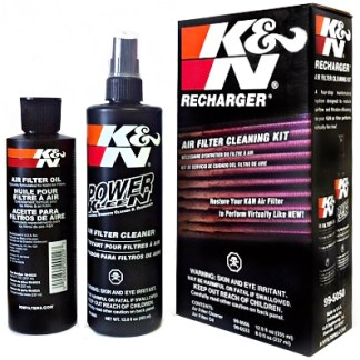 K&N Motorcycle Air Filter Care