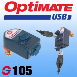 oO105 Optimate DIN to Dual USB Charger