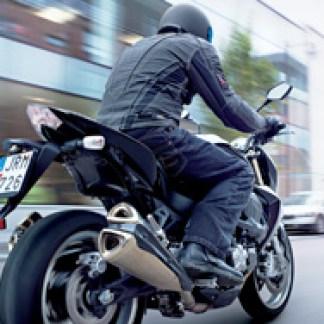 Lindstrands Denim Motorcycle Jeans
