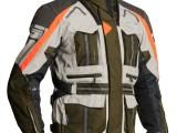 Lindstrands Oman Textile Motorcycle Jacket Green White