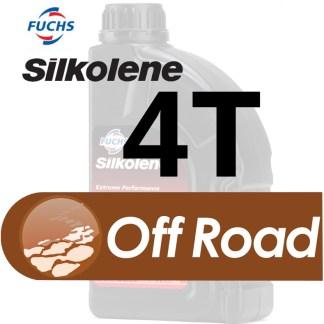 Silkolene 4 Stroke Off Road Quad Motorcycle and ATV Oil
