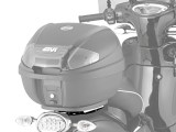 Givi SR6705 Monolock Rack for Aprilia Scarebo 50 2014 on