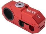 Kovix Alarmed Front Brake Lever Lock Red