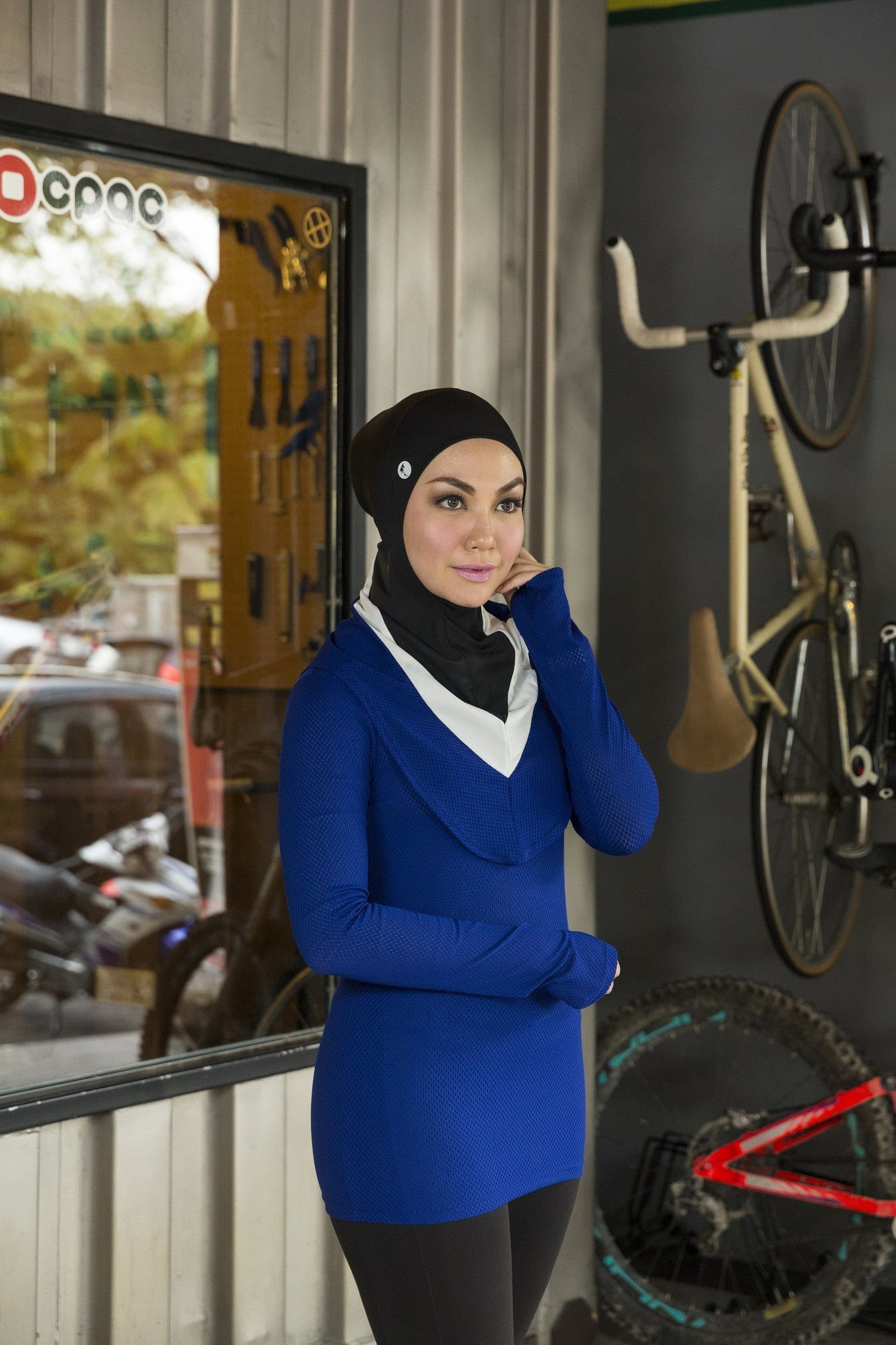 Sporty Look With Hijab 14 Modest Hijab Sports Outfits
