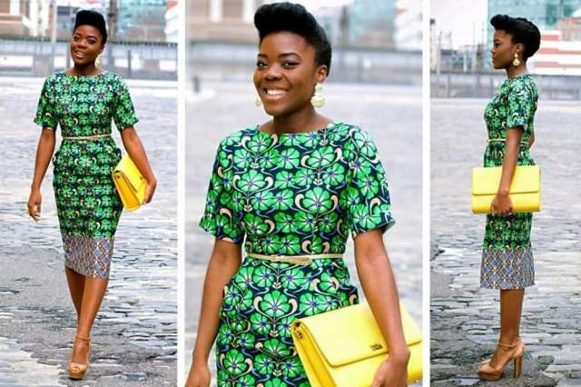 Latest-Nigerian-Prints Modern African Dresses-18 Latest African Fashion Styles 2017