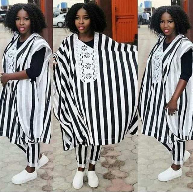 Agbada-Street-Style Agbada Outfits for Women - 20 Ways to Wear Agbada in Style