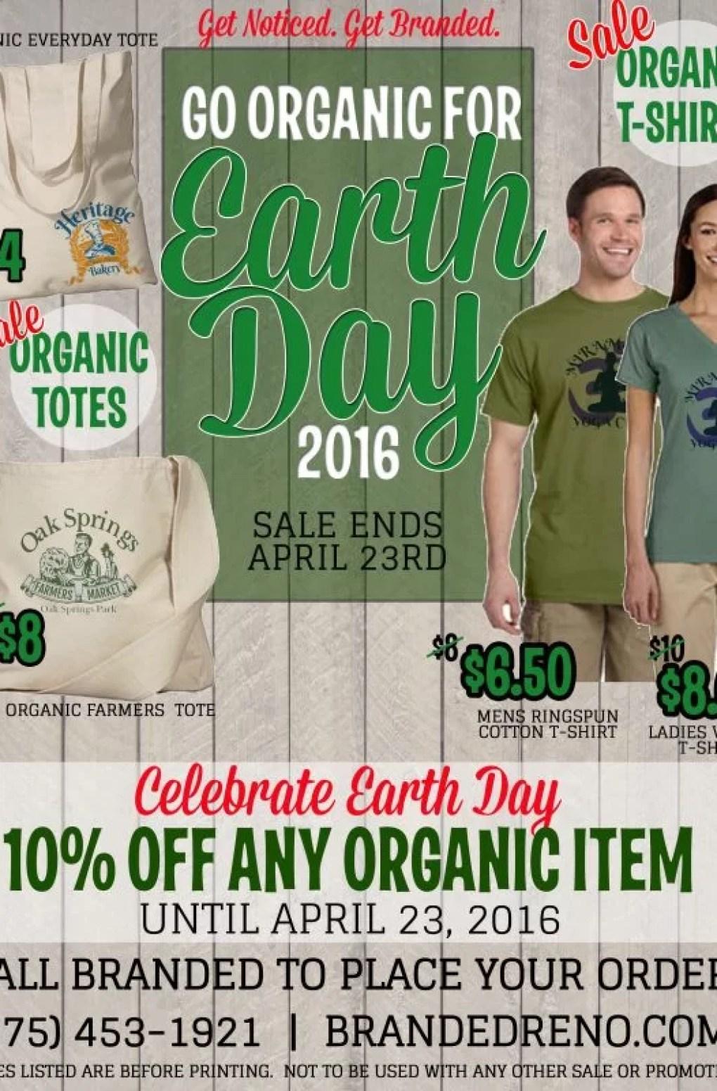 Earth Day Custom T-shirts
