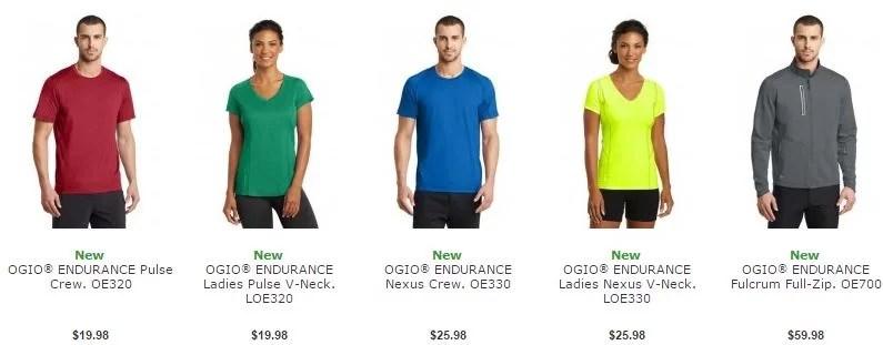 Ogio Custom Running Shirts Branded Reno