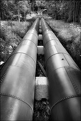 New Lanark-Water Pipes, by Manky Maxblack