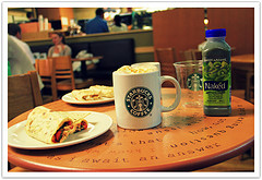 Starbucks : Birmingham : England : UK : Enjoy!, by uggboy
