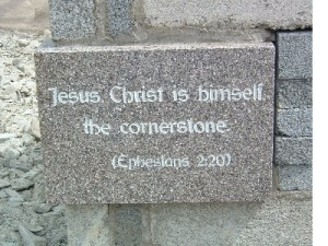 Kulmakivi, Jeesus Kristus.