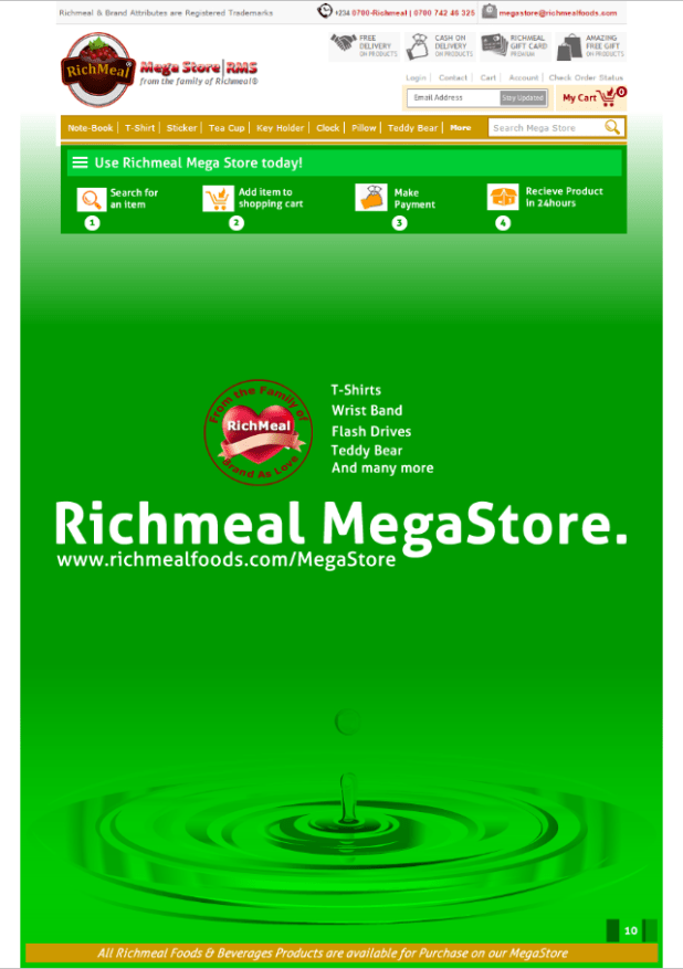 Number 4 RMS Richmeal MegaStore