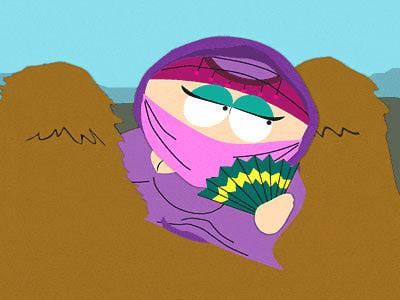 Cartman in drag cartoon characters in drag
