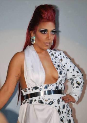 1 Brandi Amara Skyy Miss Diva USofA Creative Evening Wear 2014 Front model