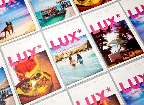 Lux Identity collateral design 13