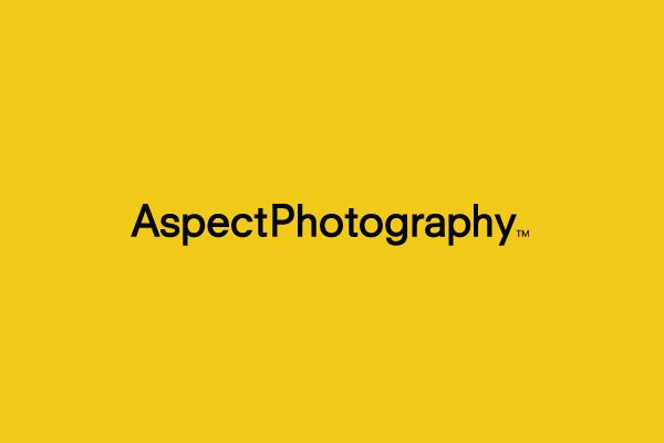 Aspect photography branding identity design for Aspect design