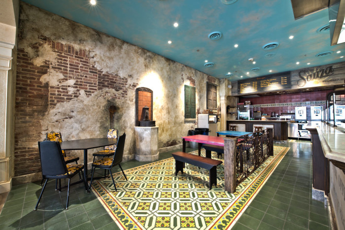 Restaurant Interior Brand Design 08