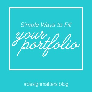 #77: Simple Ways to Fill Your Portfolio