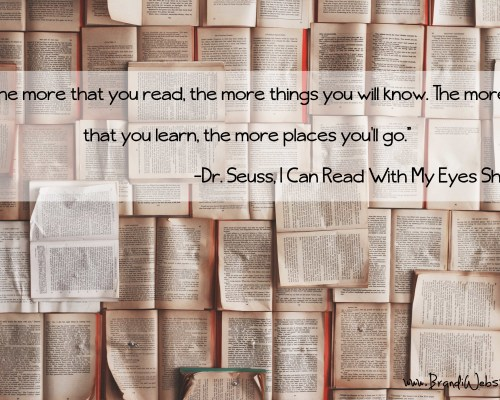 Motivation Monday: Reading encourages learning