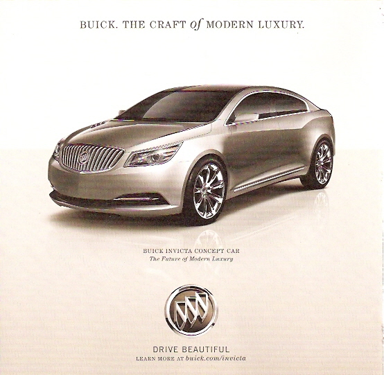 Buick And The Invicta Concept Car
