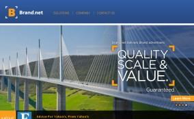 Screen Shot, Brand.net