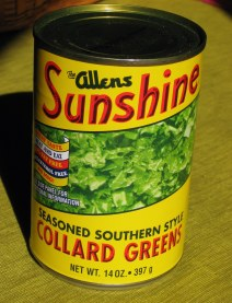 Canned Collard Greens from Allens
