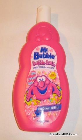 Mr. Bubble bottle