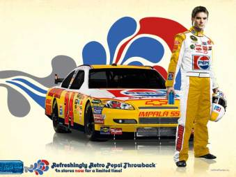 Pepsi Throwback with Dale