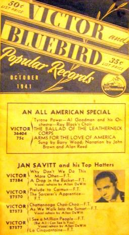 Victor Bluebird Popular Records 1941