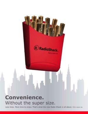 RadioShack advertisement