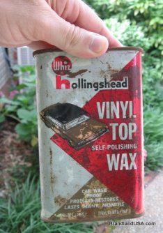 Hollingshead Vinyl Wax