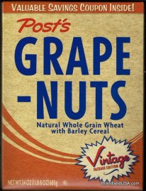 Grape Nuts by Post