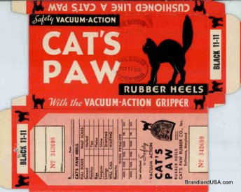 Cat's Paw Packaging from USPTO