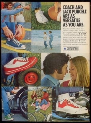 Jack Purcell Tennis Shoes, Remnant of Goodrich