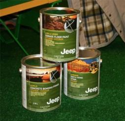 Jeep Garage Paint