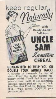Uncle Sam Breakfast Cereal