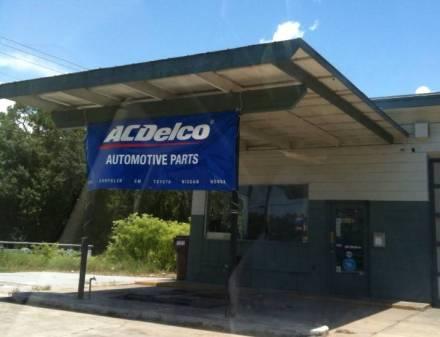 AC Delco banner