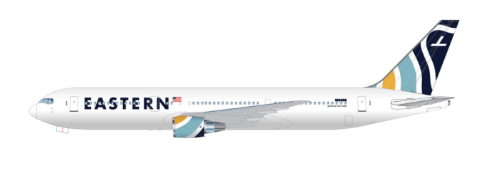 Eastern airlines new livery