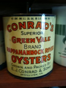 Conrads Green Vale Rappahannock River oysters