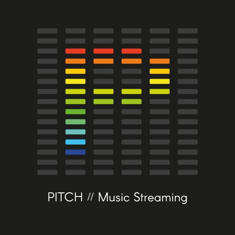 Brandner Graphics Daily Logo Challenge Day 9 Music Streaming - Logo