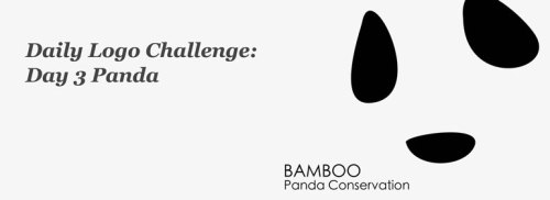 Brandner Graphics Daily Logo Challenge Day 3 Panda