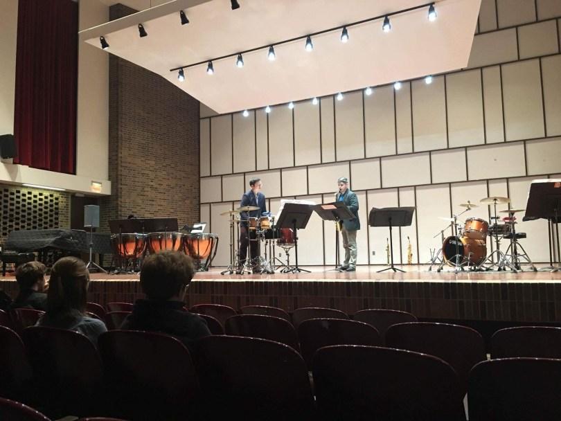 Whitewater recital