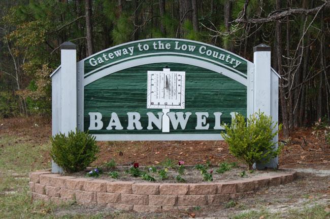barnwell-welcome-sign
