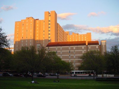 Jester Dormitory at UT Austin, photocredit: Wikipedia