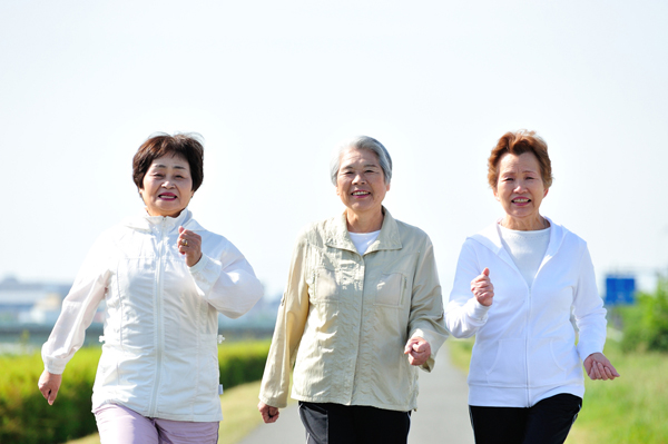 3 women on walk